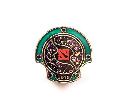 Official Dota 2: 2018 TI 8 Attendee Pin Badge