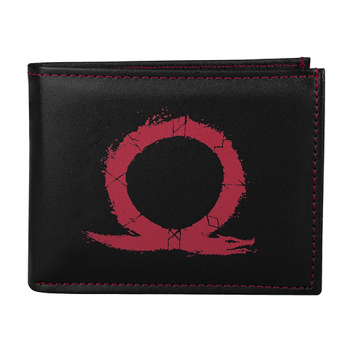 Official God of War Serpent Logo Wallet