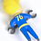 Thumbnail: Official Fallout Vault Boy Repair Keyring / Keychain