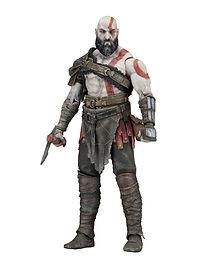 "NECA God of War (2018) - 7"" Scale Action Figure - Kratos"