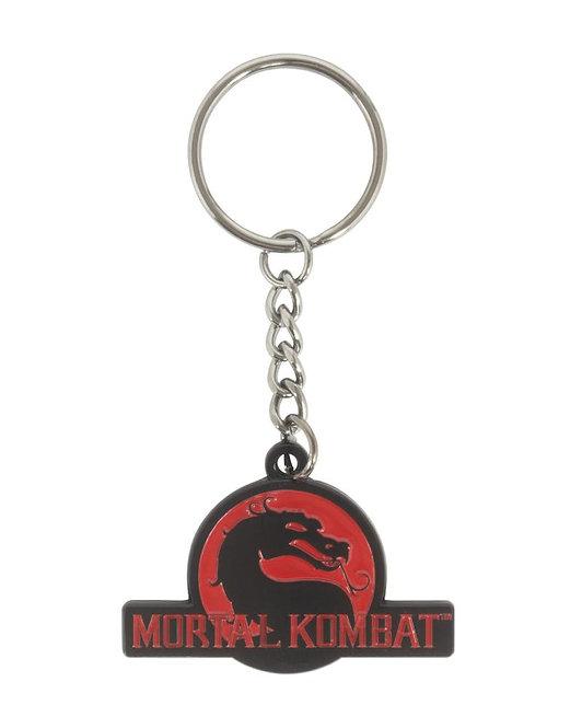 Official Mortal Kombat Logo Keyring / Keychain