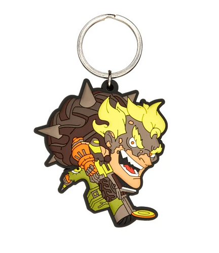 Official Overwatch Cute But Deadly: Junkrat Keychain