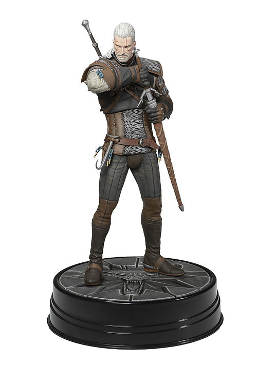 Dark Horse: The Witcher 3 Wild Hunt Deluxe Figure - Geralt Hearts of Stone
