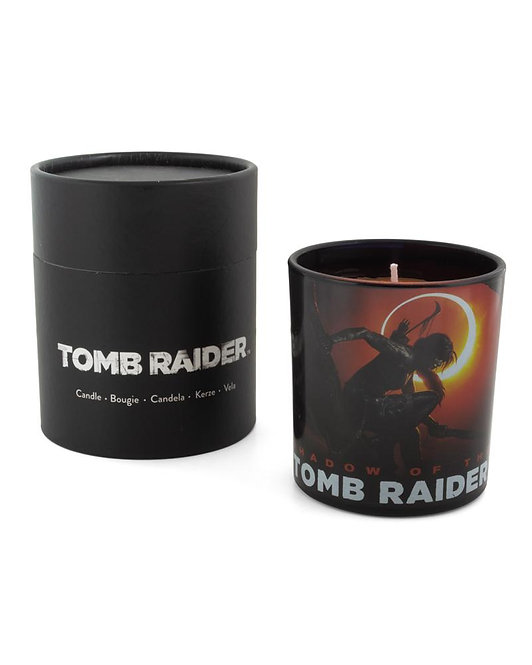 Official Shadow of the Tomb Raider Glass Candle