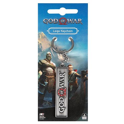 Official God of War Logo Keychain