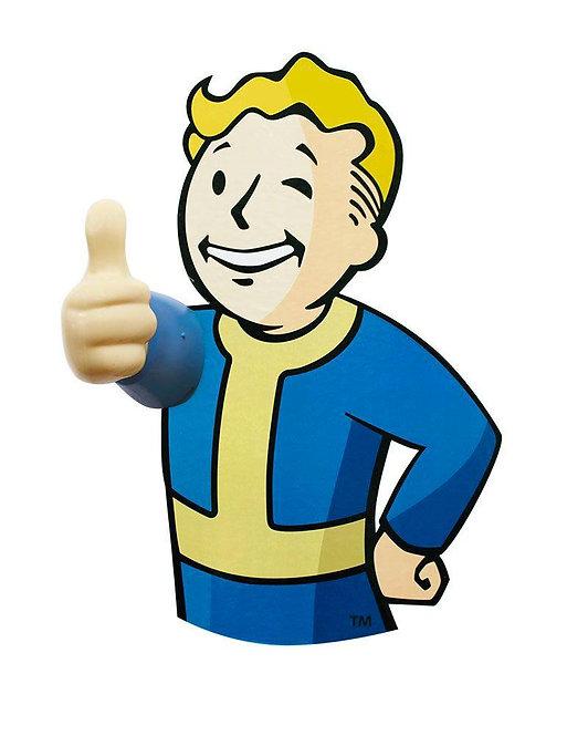 Official Fallout 3D Vault Boy Coat Hooks (2 Pack)