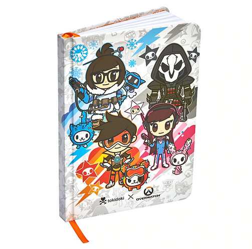 Official Overwatch Tokidoki Journal