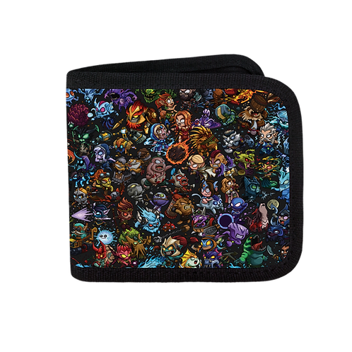 Official Dota 2: Royal Rumble - Full Color Canvas Wallet