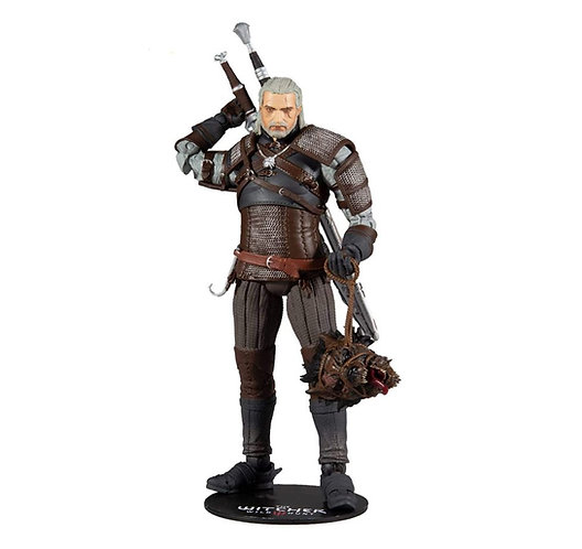 """McFarlane Toys: The Witcher 3 Wild Hunt 7"""" Action Figure - Geralt of Rivia"""