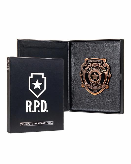 Official Resident Evil R.P.D. Pin Badge