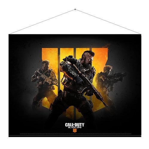 "Official Call of Duty: Black Ops 4 ""Keyart"" Wall Scroll"