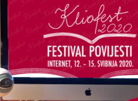 """Virtualni Kliofest - predstavljanje projekta """"Rat, žrtve, nasilje i granice slobode..."""""""