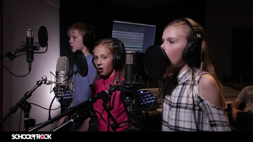 "School of Rock Students Record Santana's ""Oye Como Va"" In Studio"