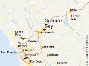 Sacramento Area Real Estate Agent region map