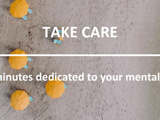#TakeCare: it's time to get bored!