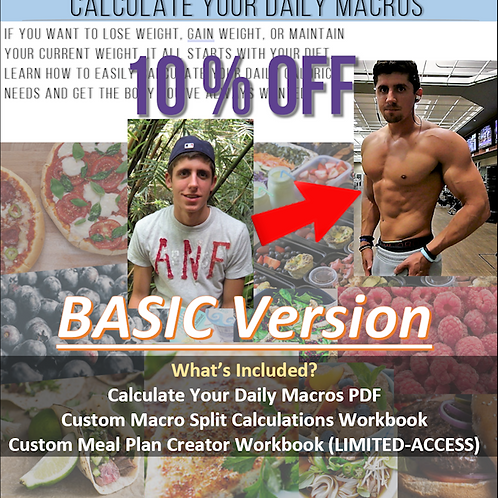 Calculate Your Daily Macros BASIC Version
