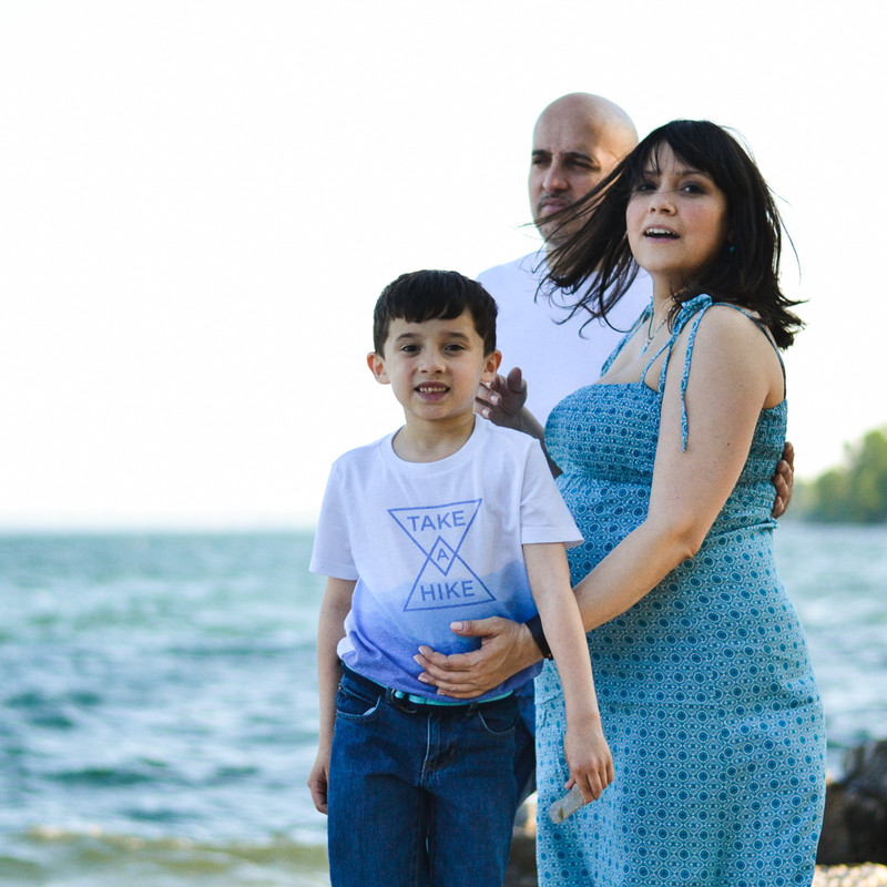 Pregnancy Family Session - Outdoor (11 o