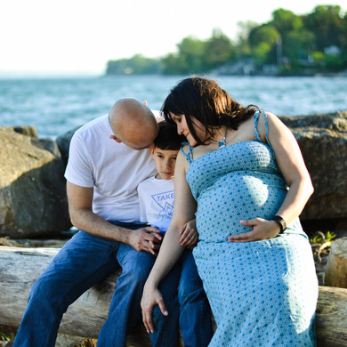 Pregnancy Family Session - Outdoor (12 o