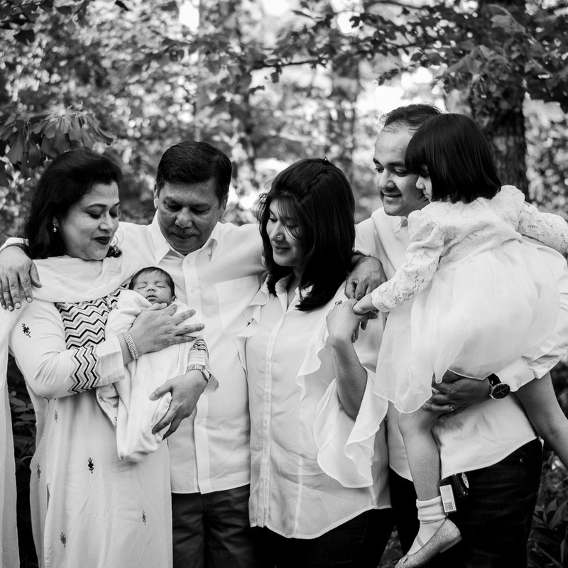 Newborn Family Session - Outdoor (4 of 2