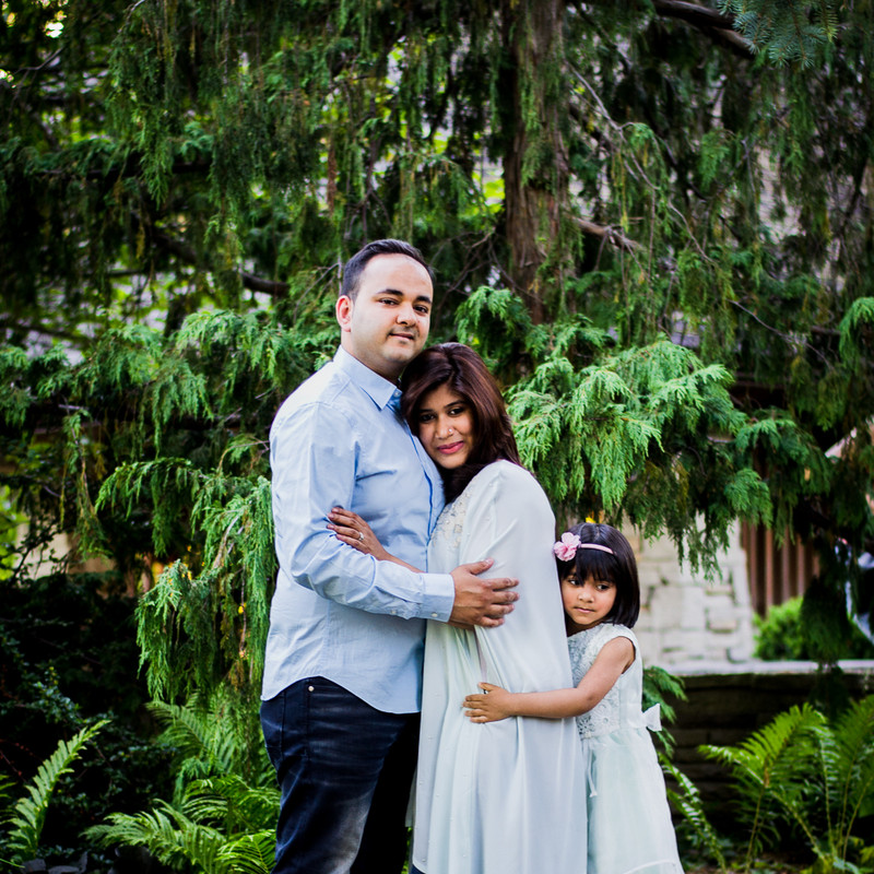 Newborn Family Session - Outdoor (21 of
