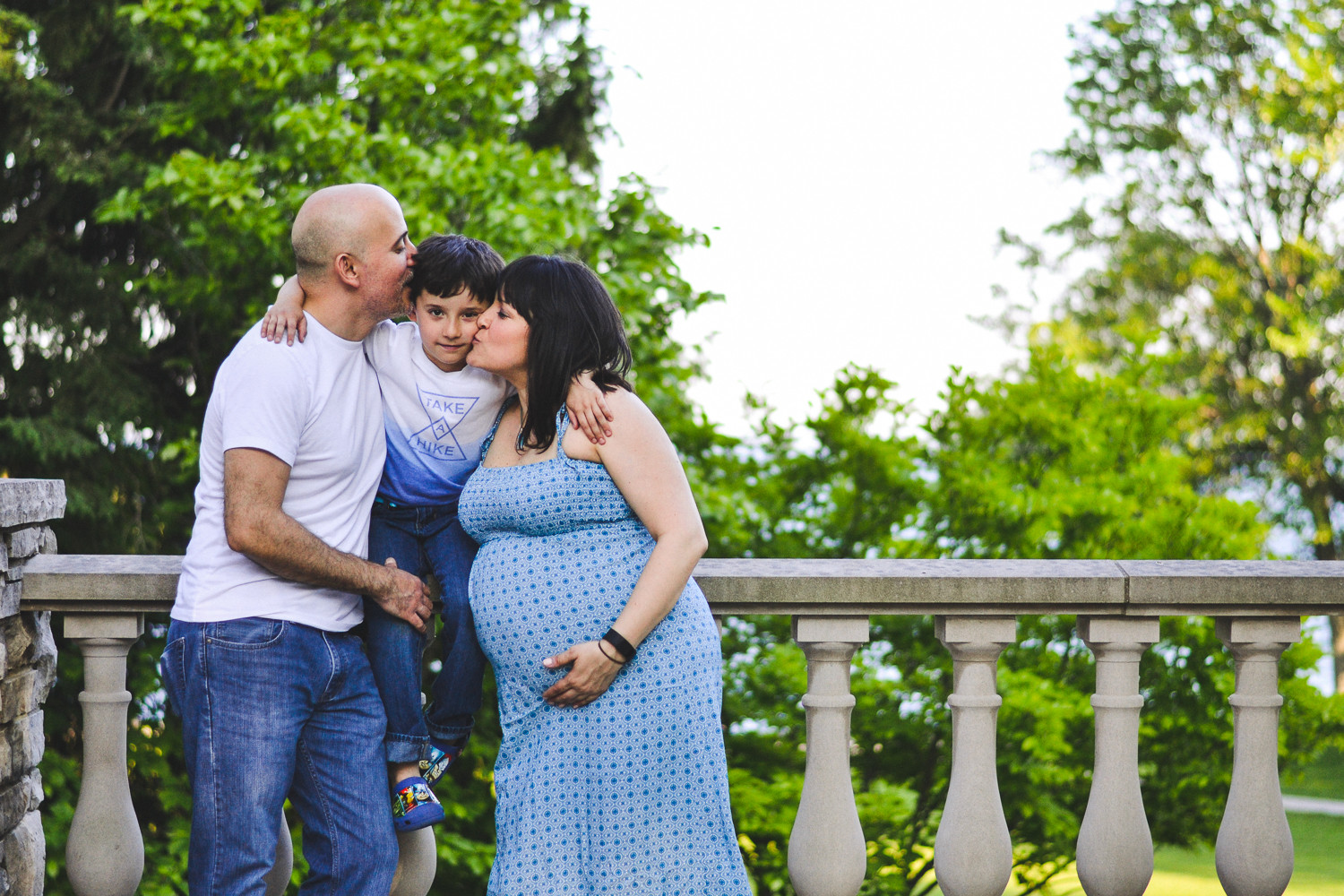 Pregnancy Family Session - Outdoor (6 of