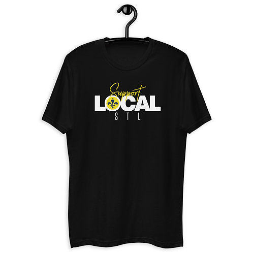 Support Local STL White Short Sleeve T-shirt