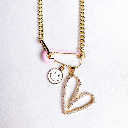 Smiling Heart Necklace