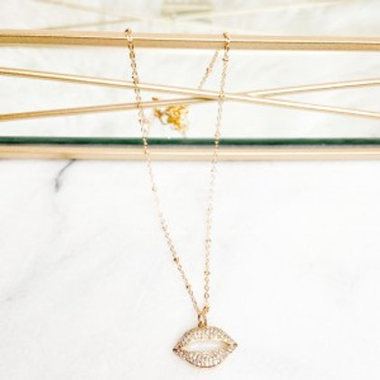 Kiss Away The Night Necklace