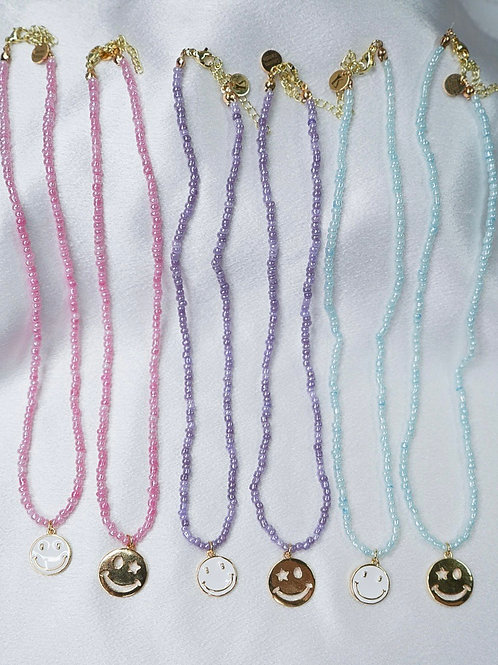 Neon Seed Bead Necklaces