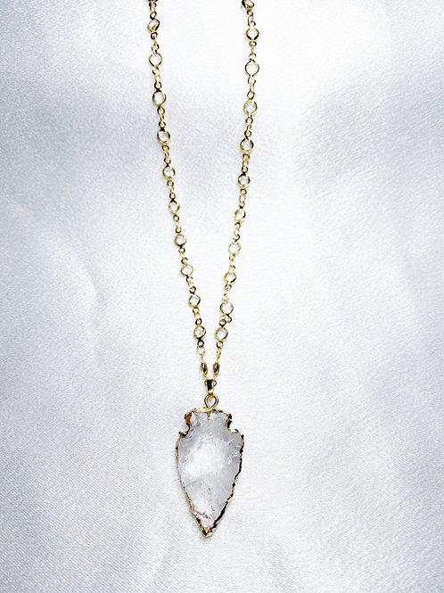 Diamond Arrow Head Necklace