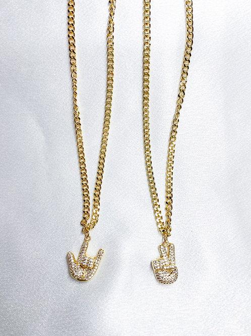 Cuban Chain Sign Necklaces