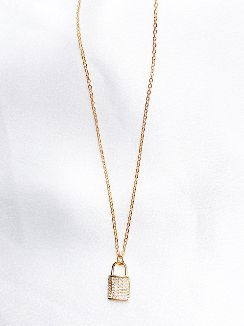 Lock Away Necklace