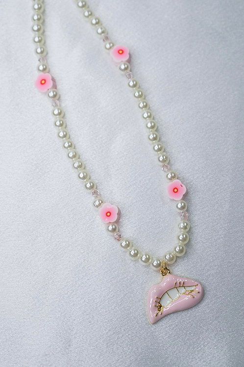 Blossom Lip Necklace