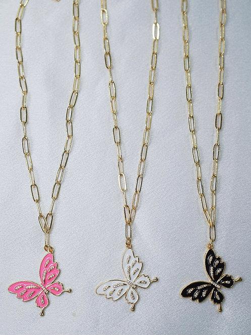 Neon Flutter Necklaces