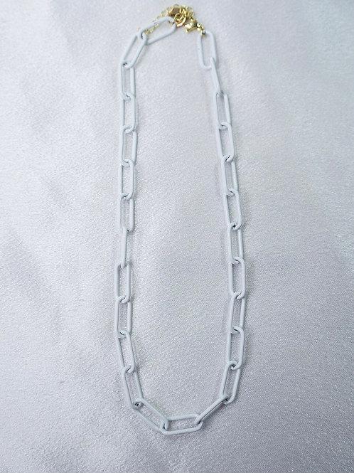 White Chain Choker