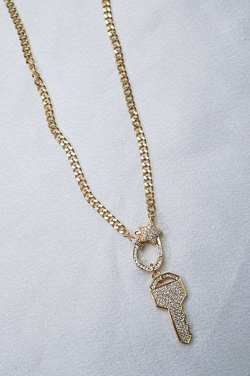 Locked Away Necklace With Clasp