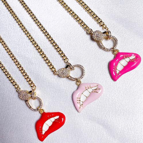 Lip Gloss Necklace