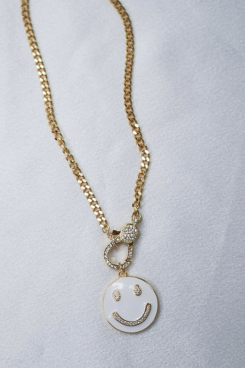 Because I'm Happy Necklace With Clasp