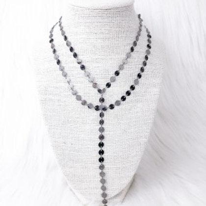 Black Sequin Elegance