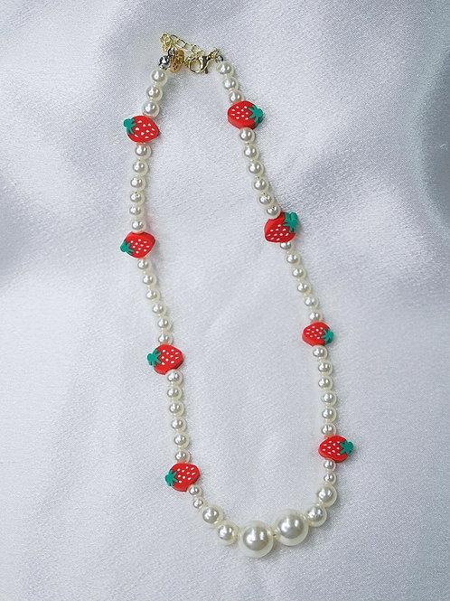 Strawberry Shortcake Necklace