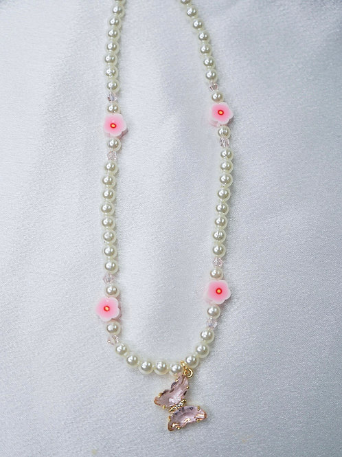 Blossom Butterfly Necklace