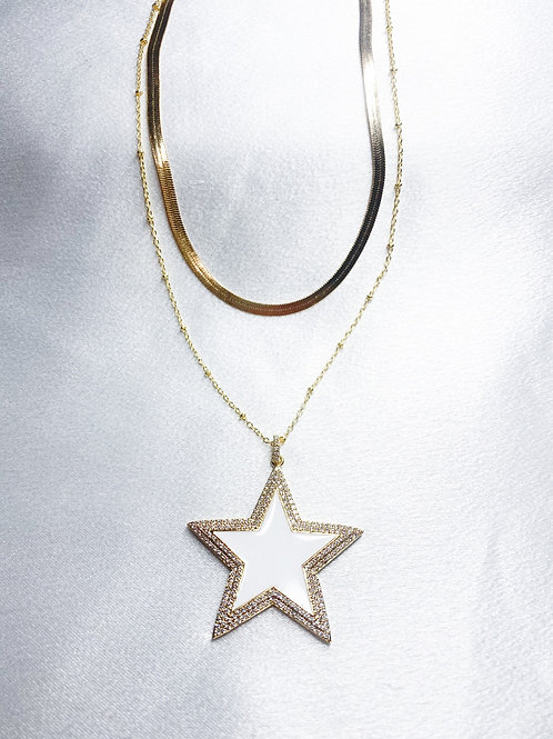 Star Girl Double Necklace