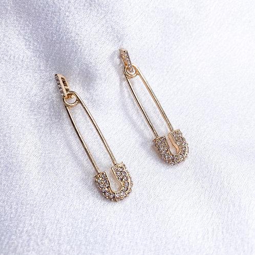 Pin It Earrings