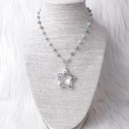 Silver Multicolored Star Single