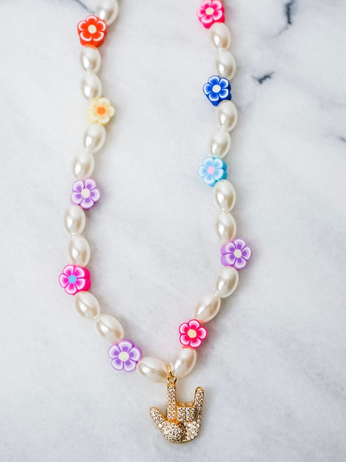 Beach Candy Love Necklace