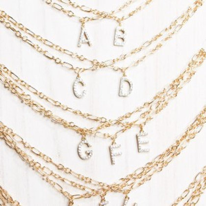 Letter Lovers Necklace