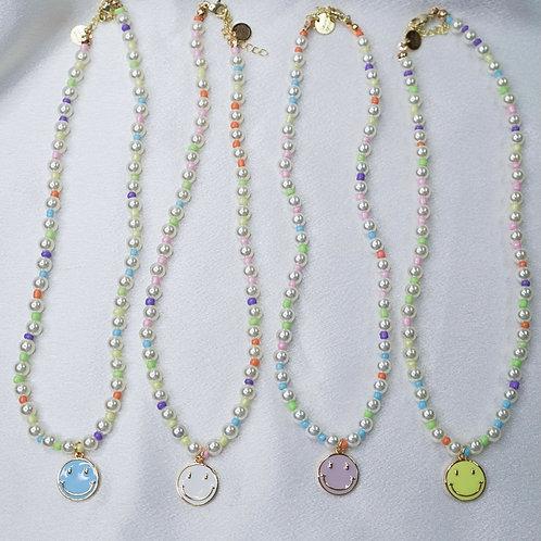 Pearl Smiley Necklaces