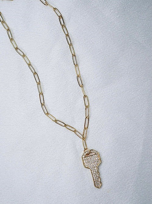 Locked Away Necklace