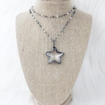 Mixed Gray Crystal Star Double