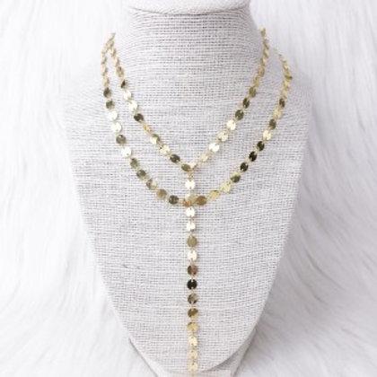 Gold Sequin Elegance